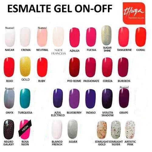 Esmalte Gel ON OFF Thuya x 14ml - comprar online