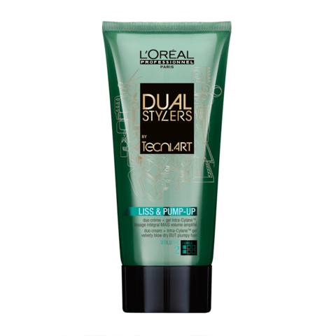Loreal  dual stylers liss pump - up 150ml