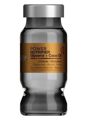Loreal ampolla power nutrifier glycerol + coco oil