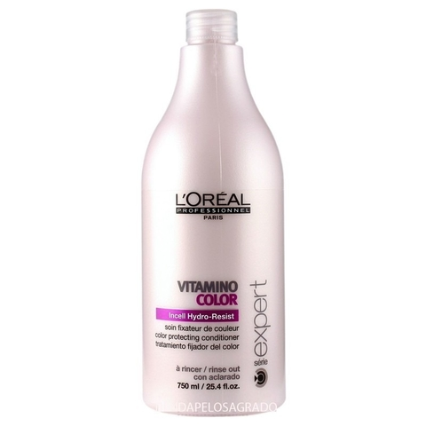 LOREAL ENJUAGUE VITAMINO COLOR 750ml