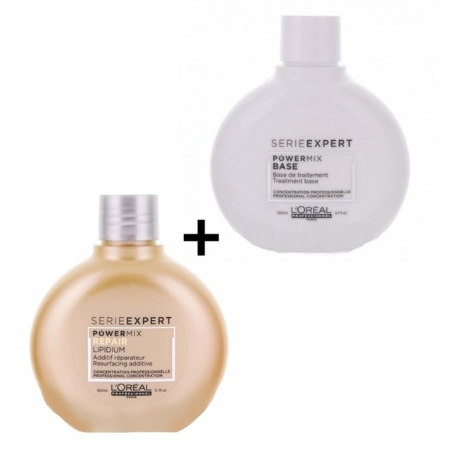 Loreal expert powermix 150 ml + power mix base 150 ml - comprar online