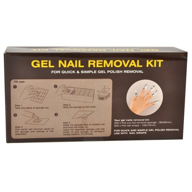 Kit gel removedor unas gelificadas