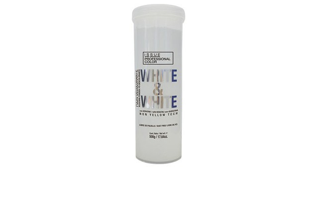 Issue polvo decolorante white & white 500 gms