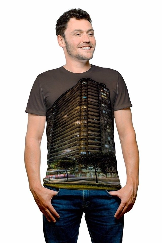 Camiseta Vista Edifício Planalto SP by Leporo