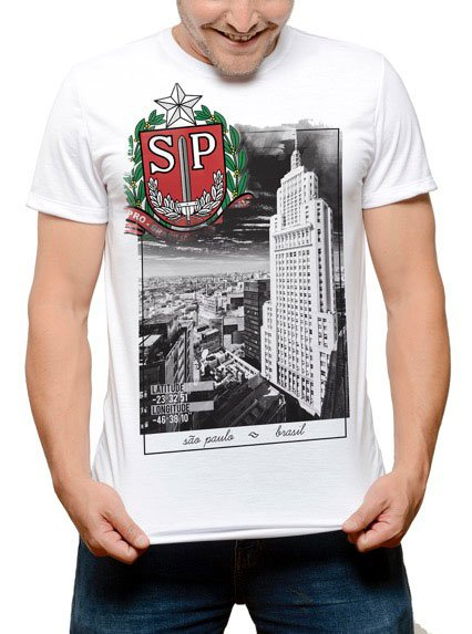 Camiseta Vista BANESPA SP