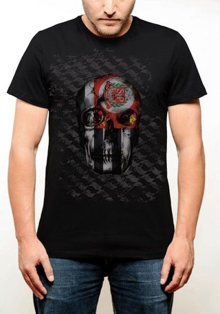 CAMISETA SKULL FLAG Vista Sampa