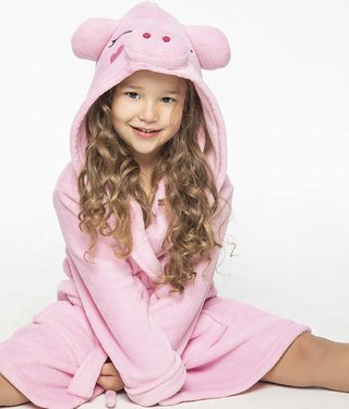 Art. 20557-BATA CORAL FLEECE NENA PIG - BIANCA SECRETA