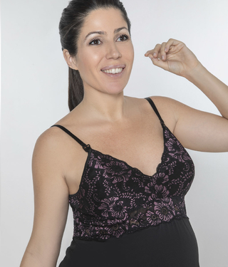 Art. 3106-Camisola maternal black Julieta-Vridda