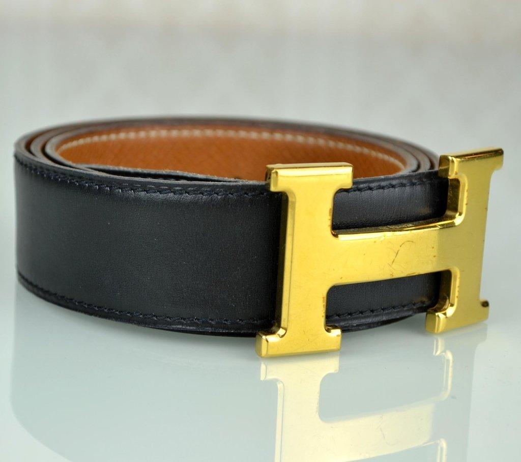 832e403597c ... Cinto Hermès Dupla Face TAM 80 - comprar online ...