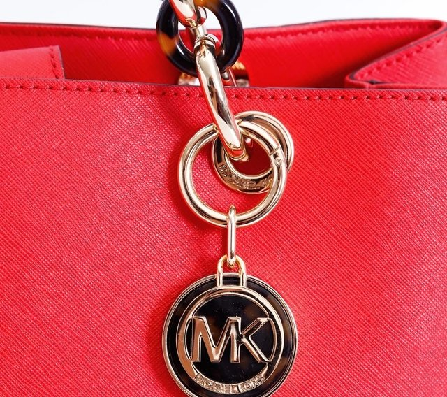 Bolsa Michael Kors Shopping Tote Jet Set Coral