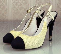 43e6d4fd13e34 Sapato Chanel Cap-Toe 39 5 EUR