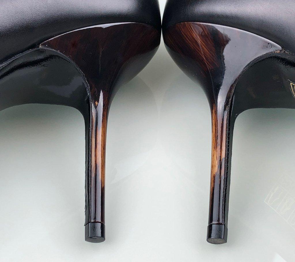 32678b0284 ... Sapato Scarpin Burberry Preto 39 5 EUR - comprar online ...