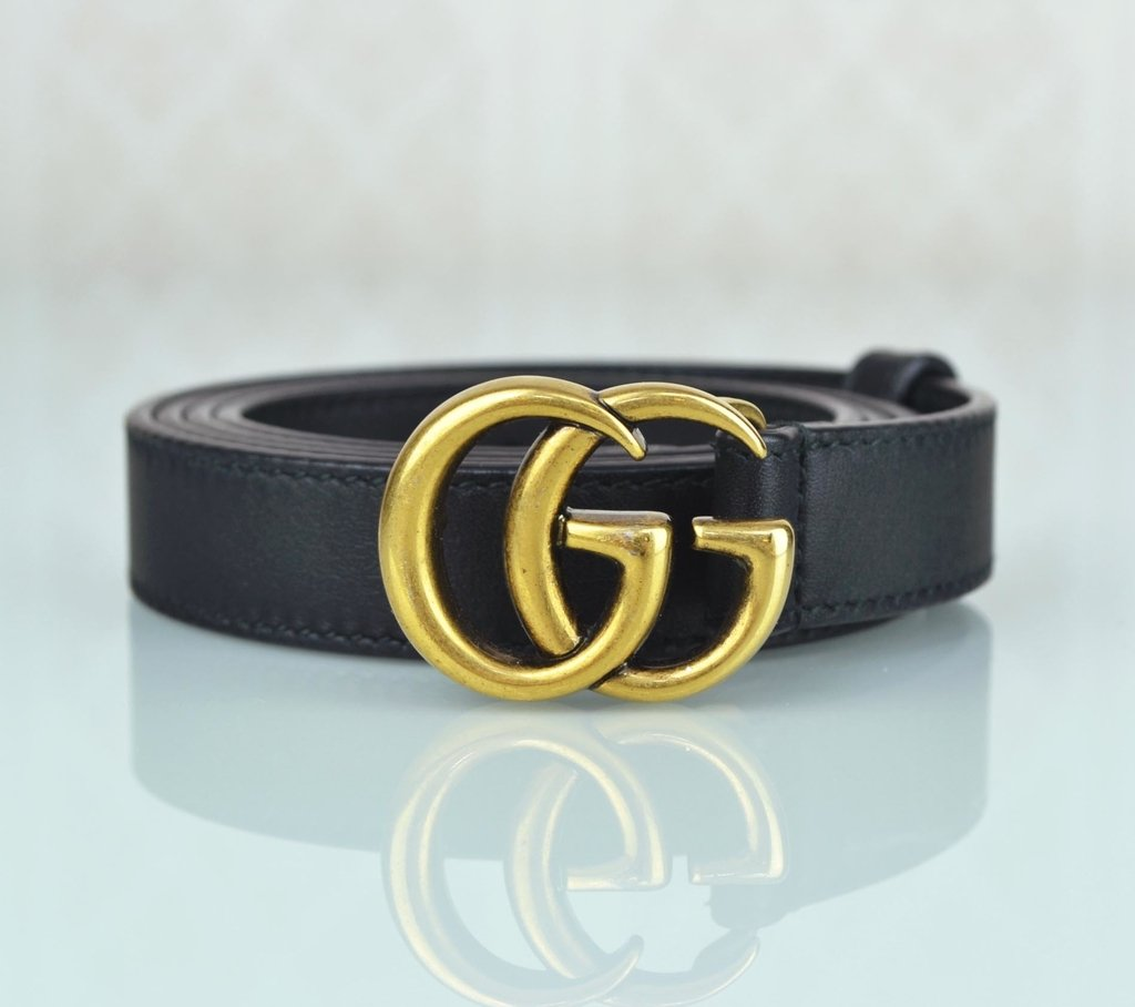 Cinto Gucci Double G Buckle 90 36 bbd482ebf9
