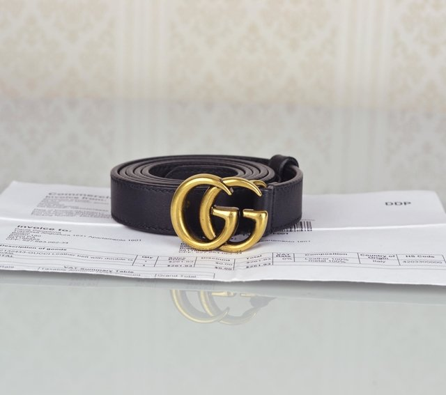 Cinto Gucci Double G Buckle 90/36 - comprar online