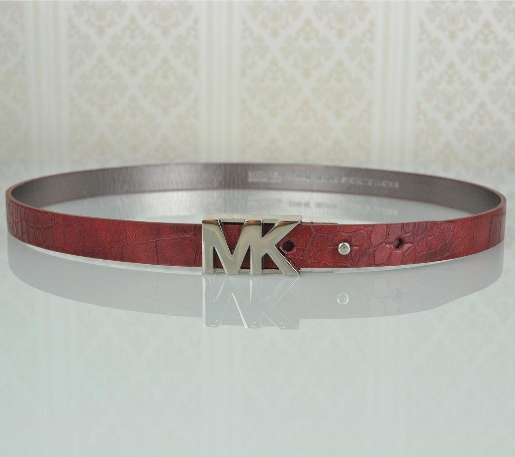 b05fc1fce ... Cinto Michael Kors MK Logo Croco 85 - comprar online ...