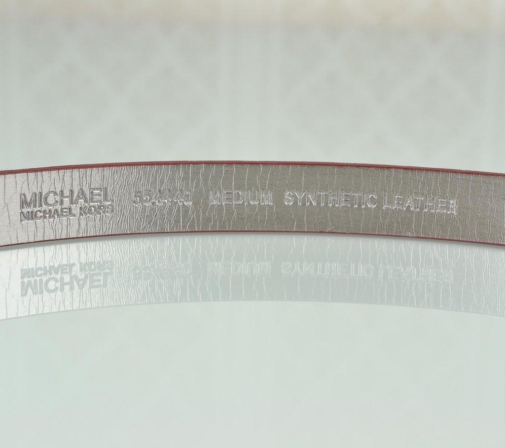 d954a75fa Imagem do Cinto Michael Kors MK Logo Croco 85 ...