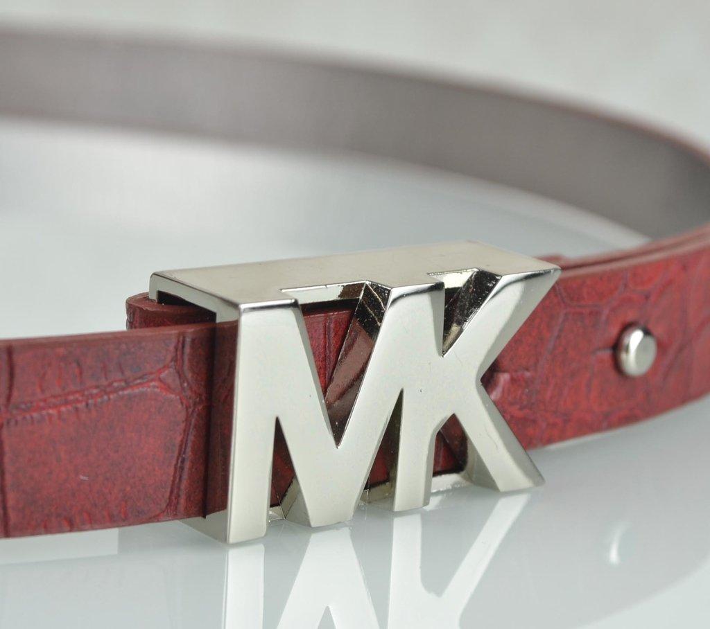 d9bbadc67 ... Cinto Michael Kors MK Logo Croco 85 na internet ...