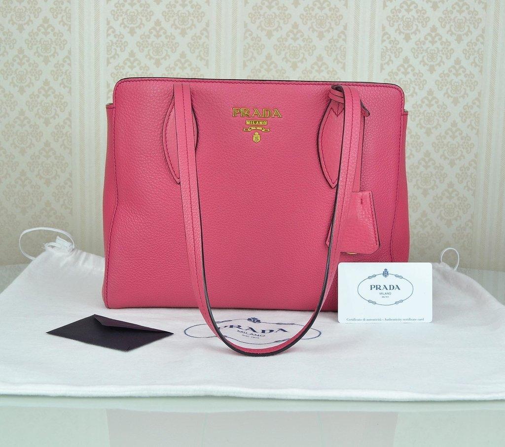 cda8f4152 ... Bolsa Prada Vitello Phenix Peonia 1BG112 - comprar online ...