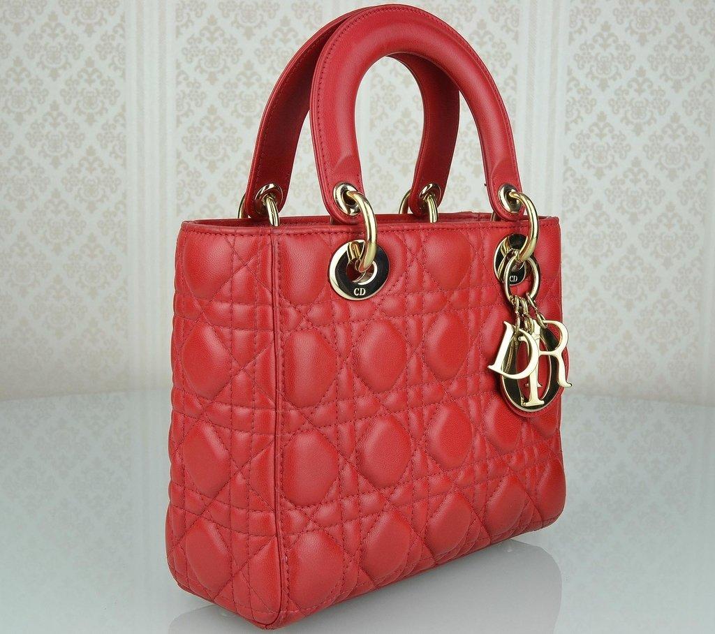 ... Bolsa My Lady Dior Vermelha - comprar online ... a9ecda72da