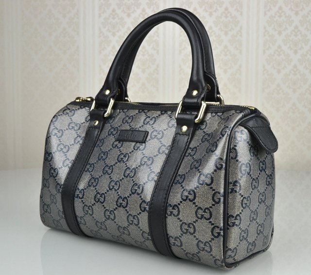 Bolsa Gucci Joy Boston Small Prata - Paris Brechó - Artigos de Luxo Seminovos