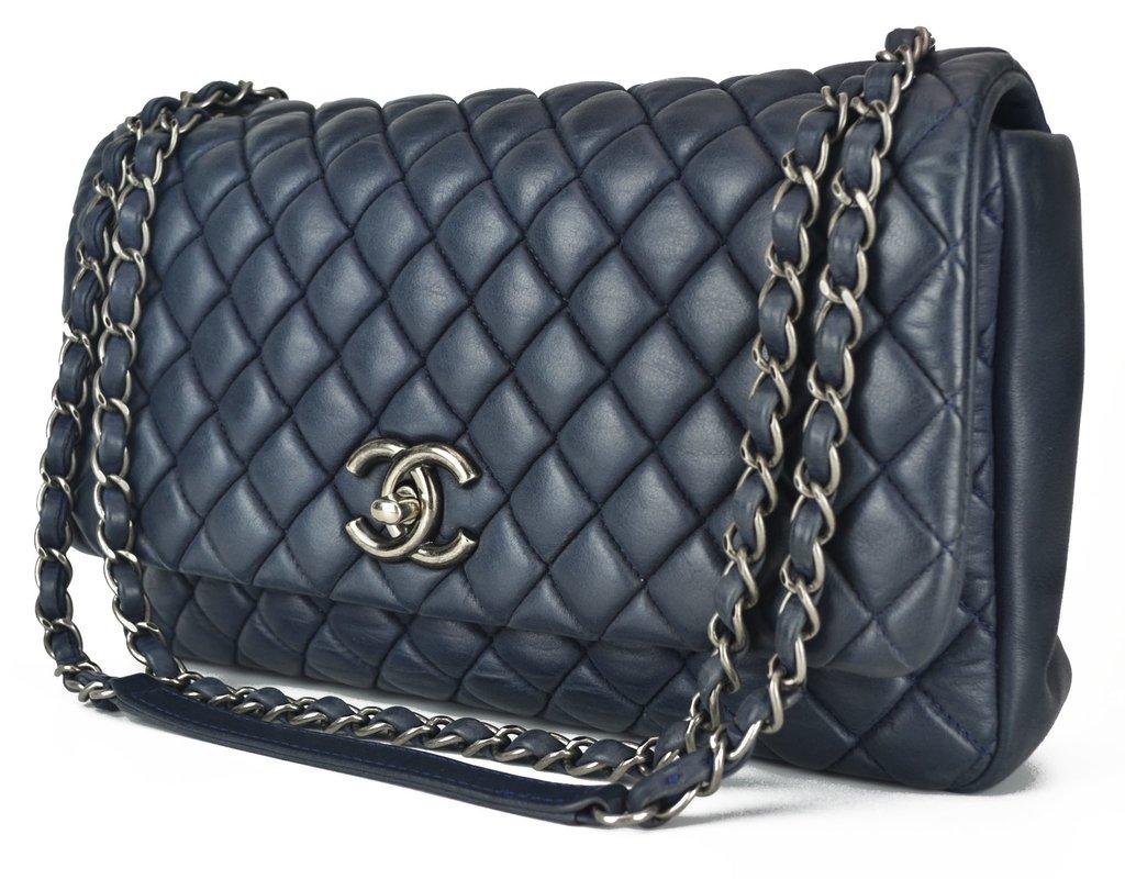 16bcdfaca ... Bolsa Chanel New Bubble Flap Bag - Paris Brechó - Artigos de Luxo  Seminovos ...