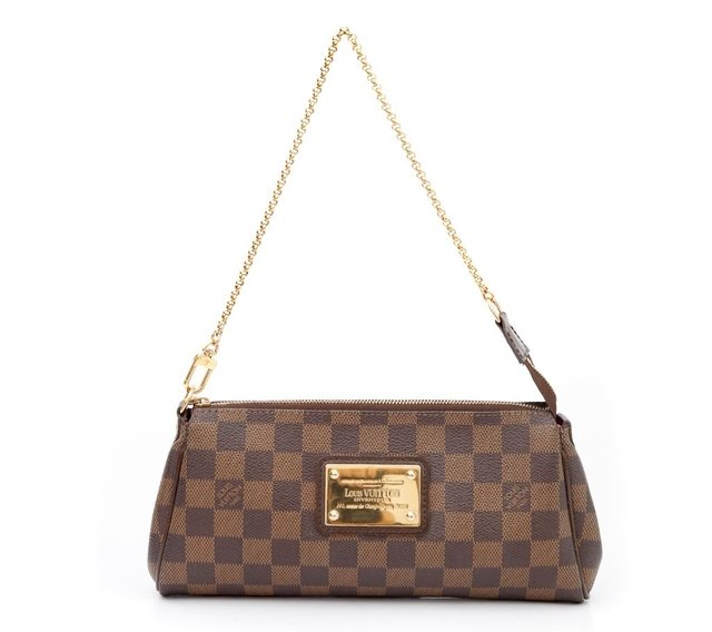 Clutch Louis Vuitton Eva Damier Ébène na internet