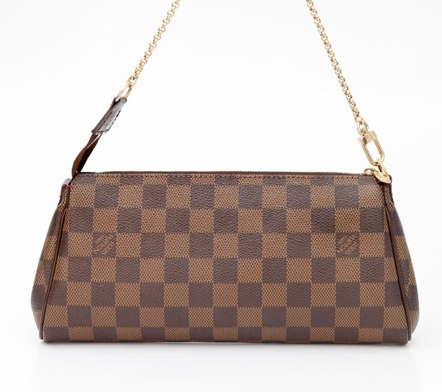 Imagem do Clutch Louis Vuitton Eva Damier Ébène
