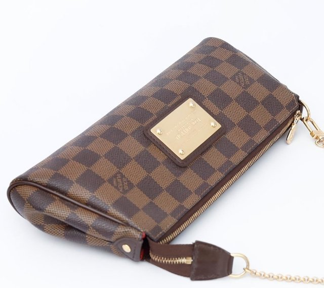 Clutch Louis Vuitton Eva Damier Ébène