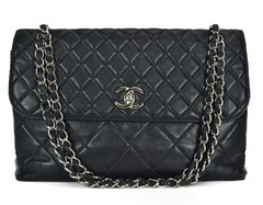 Bolsa Chanel Lambskin In-the-Business Flap
