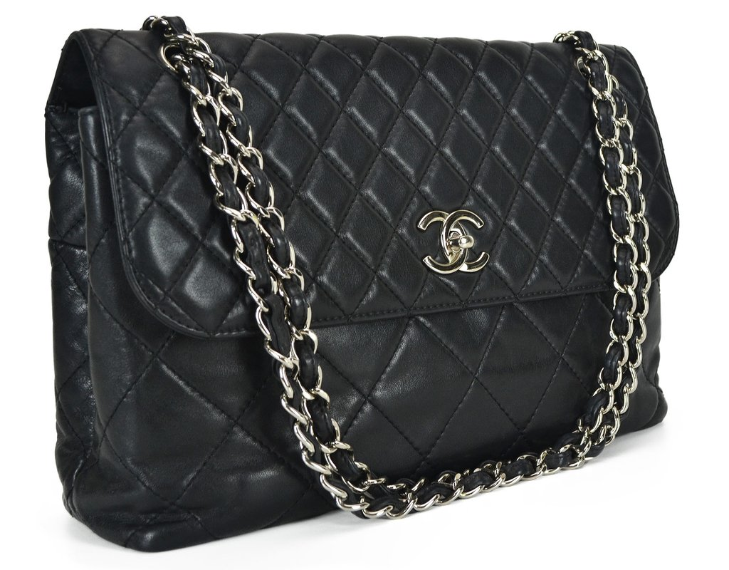 f668ed311aa44 ... Bolsa Chanel Lambskin In-the-Business Flap - comprar online ...