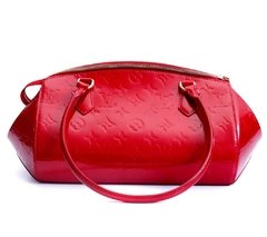 Louis Vuitton Pomme D'Amour Monogram Vernis Sherwood PM