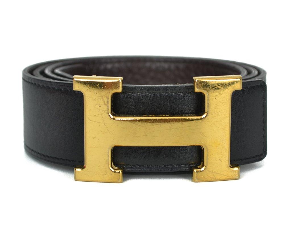 3ffc028e579 Cinto Hermès Dupla Face TAM 85
