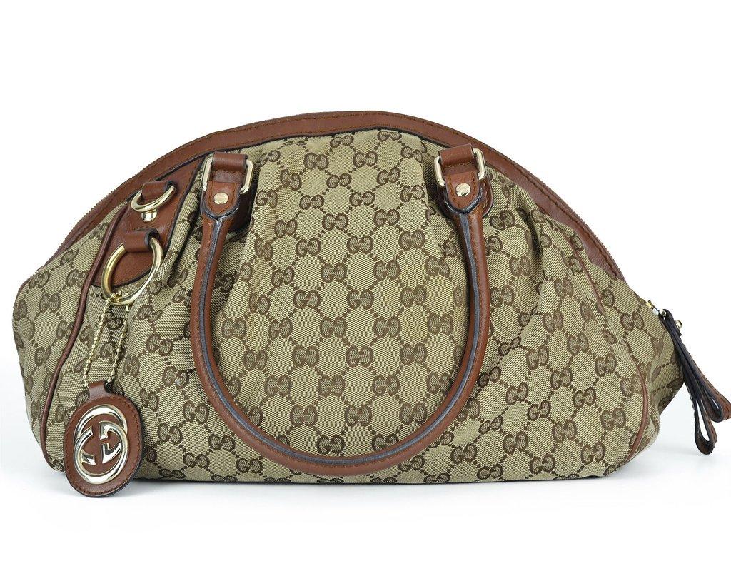 3545e3c074338 Bolsa Gucci Sukey Boston Média