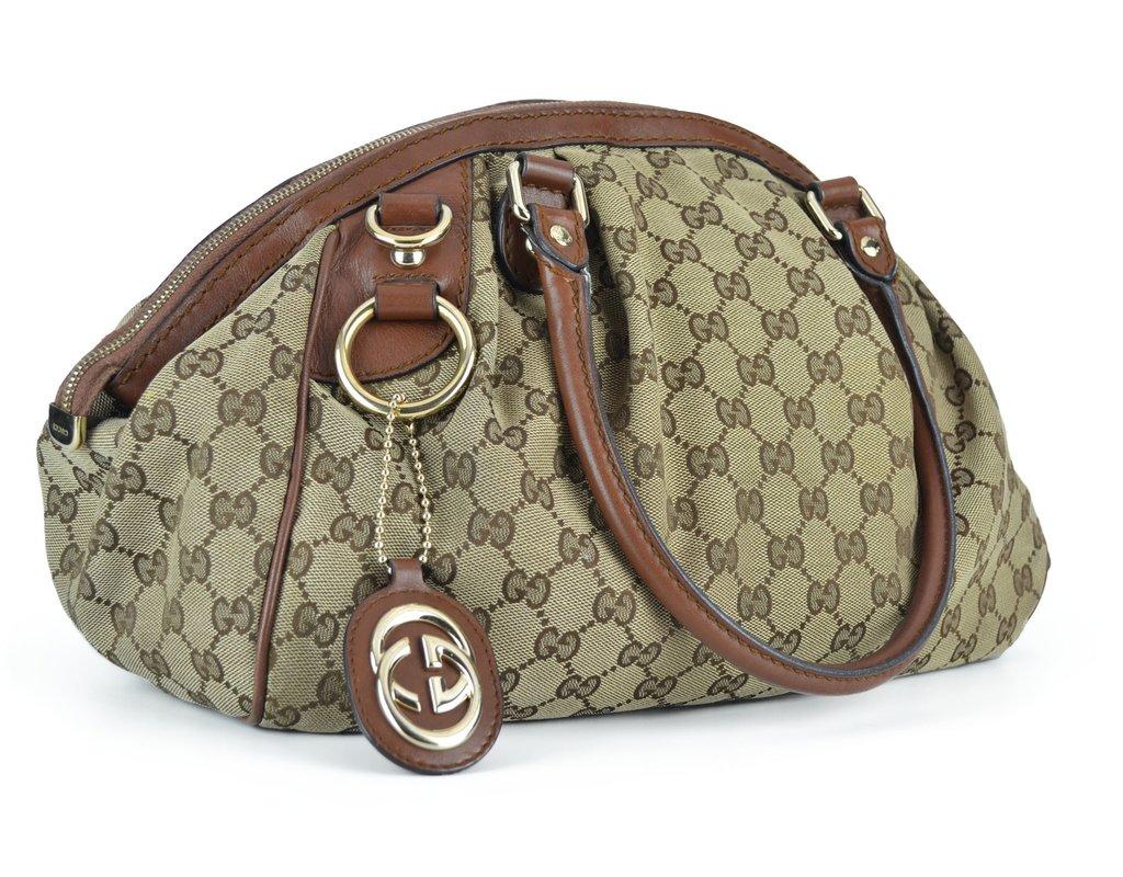 d5410d4767412 ... Bolsa Gucci Sukey Boston Média - comprar online ...