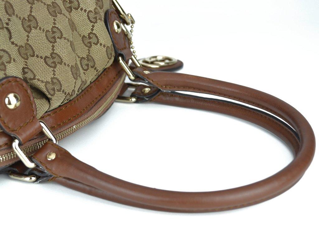 93fa2e4c57c55 ... comprar online  Bolsa Gucci Sukey Boston Média na internet ...