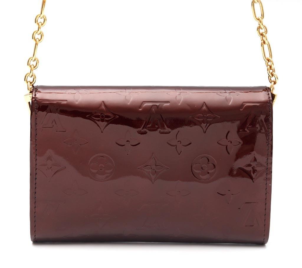e68dab432 ... Bolsa Louis Vuitton Amarante Monograma Verniz Bel Air - Paris Brechó -  Artigos de Luxo Seminovos ...