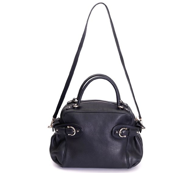 Bolsa Salvatore Ferragamo Blueberry Pebbled Calfskin - comprar online