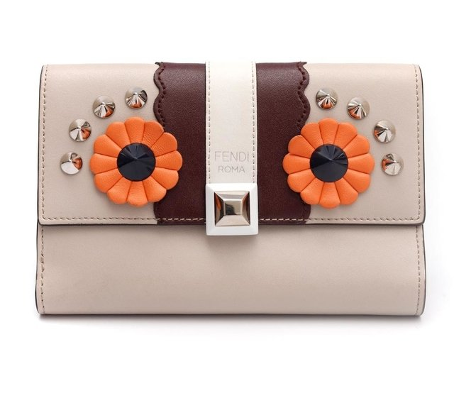 Carteira Fendi Faces Vit. Liberty Media 8M0379