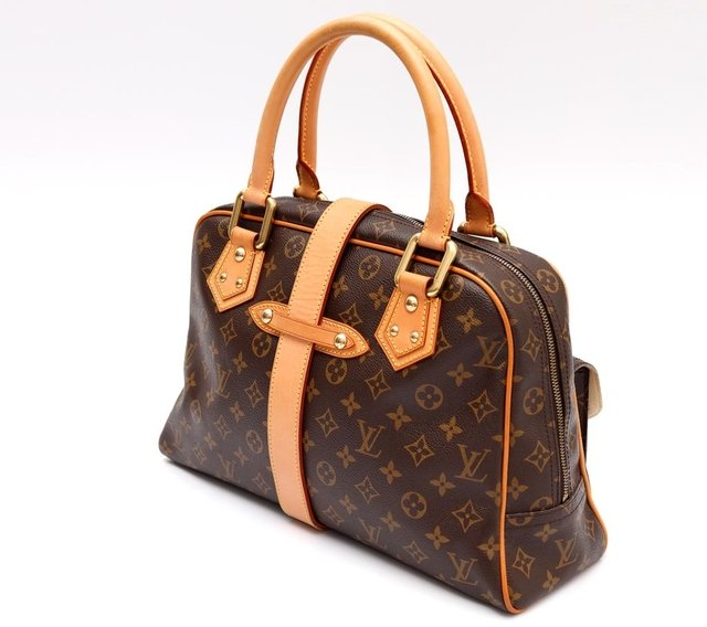 Bolsa Louis Vuitton Monograma Manhattan GM - Paris Brechó - Artigos de Luxo Seminovos