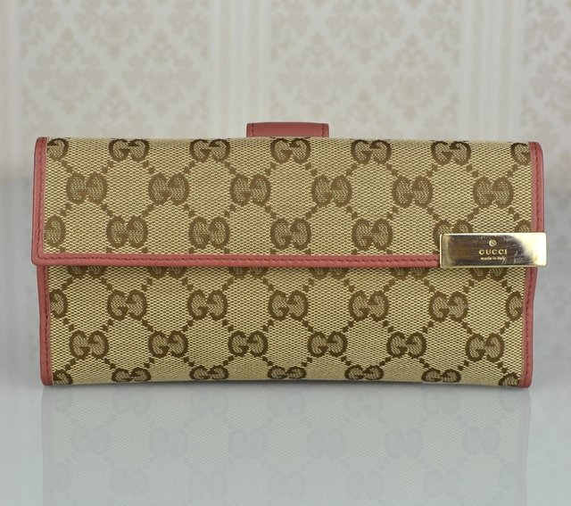 Carteira Gucci Trademark Continental