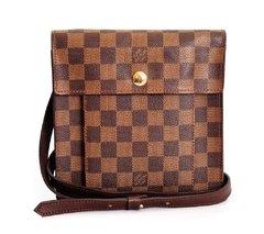 816605e7a Bolsa Louis Vuitton Damier Canvas Pimlico Crossbody