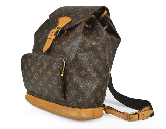 Mochila Louis Vuitton Montsouris GM Monograma na internet