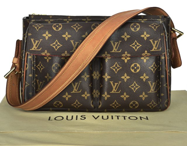 Bolsa Louis Vuitton Monogram Canvas Viva Cite GM