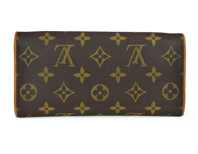 Bolsa Louis Vuitton Monogram Canvas Pochette Twin PM na internet