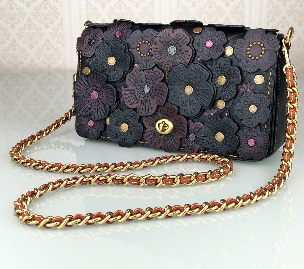 ... Bolsa Coach Tea Rose Dinky - comprar online ... 502eee1090