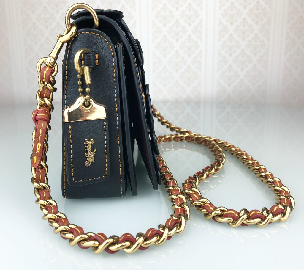 ... Bolsa Coach Tea Rose Dinky - loja online ... 99e7f95cd5