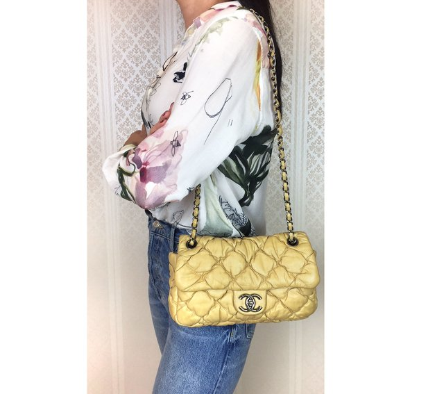 Imagem do Bolsa Chanel Bubble Lambskin Small Flap