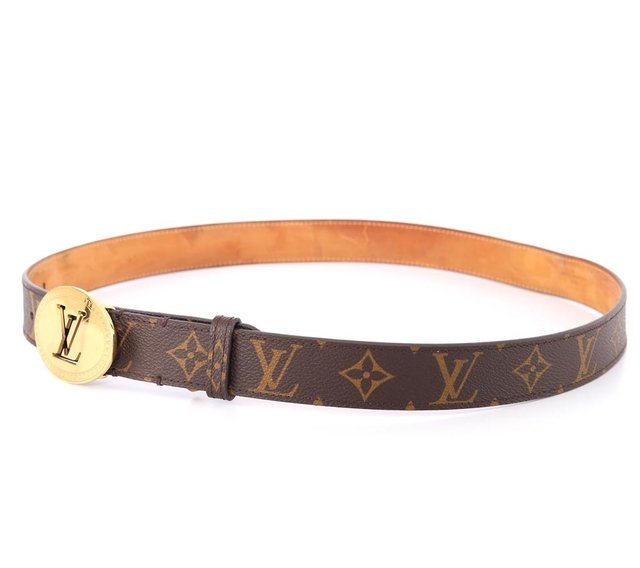 Cinto Louis Vuitton Monograms Cut Oval Tam 90 - comprar online