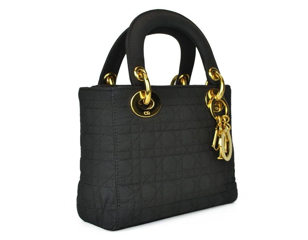 ... Bolsa Christian Dior Cannage Nylon Micro Lady Dior - comprar online ... 4cbde90c89