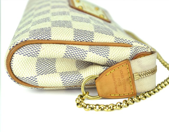 Clutch Louis Vuitton Eva Damier Azur na internet